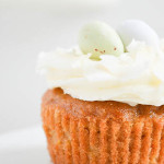 Carrot Nest Cupcakes