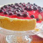 No Bake Blueberry Cheesecake