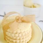 Shortbread Biscuit Ice Cream Sandwiches
