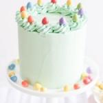 Mini Easter Eggs Vanilla Pinata Cake