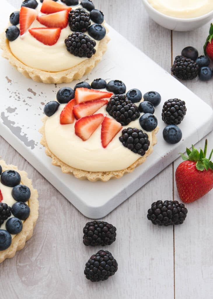 Mixed Berry Fruit Tartlets