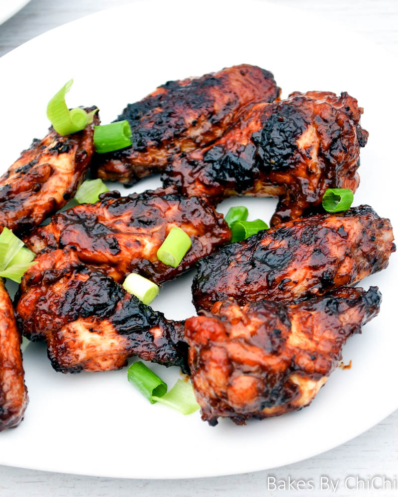 Sweet and Spicy Barbecue Chicken Wings