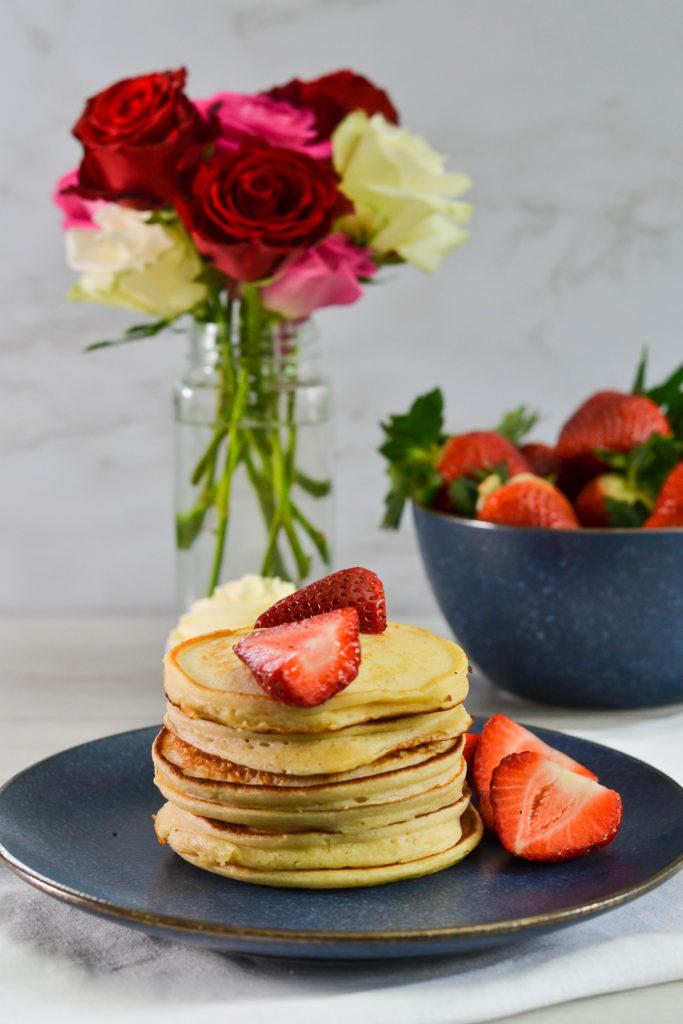 Fluffy Ricotta Pancakes