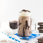 Oreo Vanilla Ice Cream Milkshake