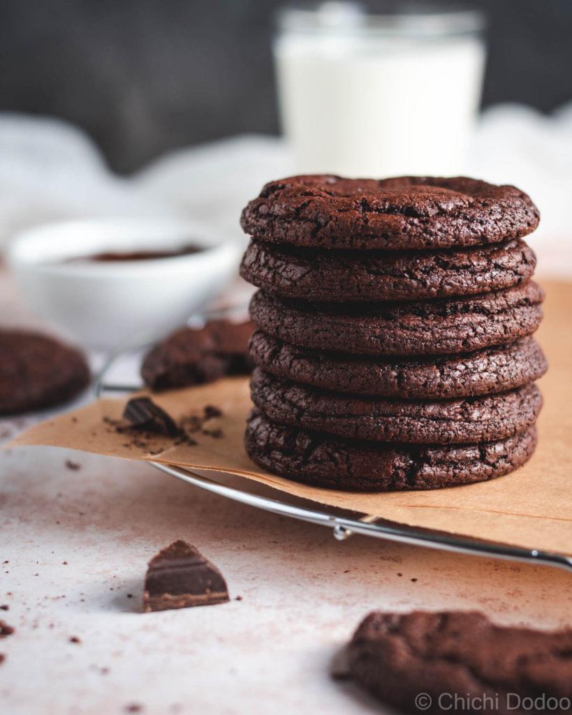 Fudgy Brownie Cookies