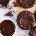 Soft Fudgy Brownie Cookies