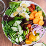 Peppery Leaf Salad with Homemade Salad Cream