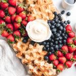 Belgian Waffle Charcuterie Board