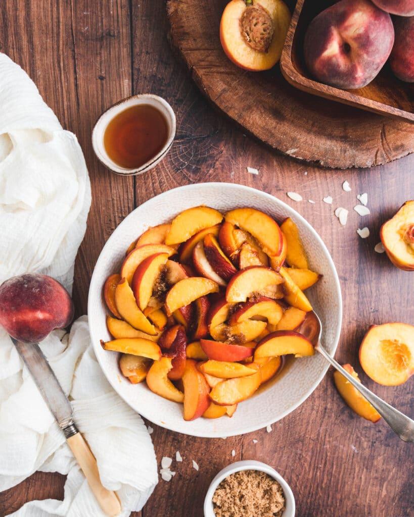 Peaches and Amaretto